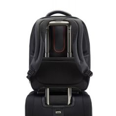 The back of the backpack easily slides over your luggage trolley handle which means you don't have to carry it on your back all the time. Luggage Trolley, Men's Backpack, New Model, Laptop Bag, Notebook, Brand New, Backpacks, Shoulder Straps, Leather