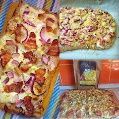 Gluténmentes, tejmentes, tojásmentes, élesztőmentes kenyérlángos recept Ti Készítettétek Recept (A recept készítője: Kisné Gáspár Éva) Szafi Free gluténmentes kenyérlángos Hozzávalók: 140 g Szafi Free lángos lisztkeverék (ITT kapható!) 20 g frissen facsart citromlé 100 g langy Hawaiian Pizza, Vegetable Pizza, Quiche, Vegan, Baking, Vegetables, Free, Bakken, Quiches