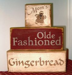 Mom's Olde Fashioned Gingerbread