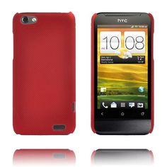 Supreme (Mørke Rød) HTC One V Deksel