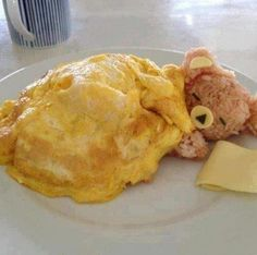 Rice bear under a egg blanket