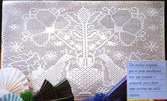 crochet em revista: Pavões