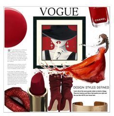 """vogue"" by sophiejf ❤ liked on Polyvore featuring art"