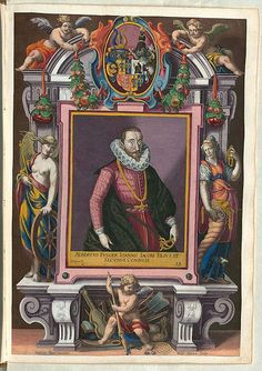Coloured Engravings of the Fugger Family | The Public Domain Review
