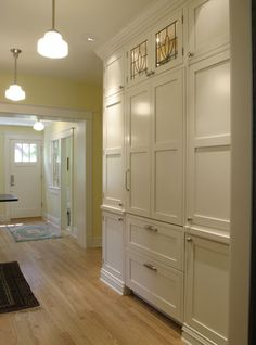 Cabinetry built ins on pinterest butler pantry built - Bathroom storage cabinets floor to ceiling ...