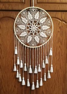 Large Dreamcatcher Wall Tapestries White Dream Catcher Beach Wedding Doily Dreamcatcher Woodland Nursery Boho Wall Hanging Birthday Gift It will defend you an Doily Dream Catchers, Large Dream Catcher, Doily Wedding, Boho Wedding, Wedding White, Gift Wedding, Wedding Decor, Wedding Ideas, Unique Wedding Bands For Women