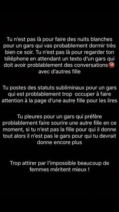 French Words, French Quotes, Sad Texts, Messages For Him, Father Quotes, Text On Photo, Sad Love Quotes, Hard Truth, Some Words