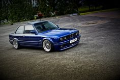 E30 with BBS RS rims