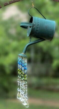 Watering can chimes