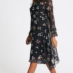 New Marks /& Spencer Indigo Collection Boho Hanky Hem  Summer Dress