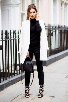Cómo usar ropa blanca en el invierno