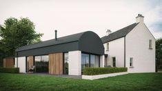 No. 34 - McAleenan NI Barn Renovation, Farmhouse Renovation, Modern Farmhouse Exterior, Farmhouse Design, Cottage Exterior, Barn Conversion Exterior, Barn House Conversion, Barn Conversions, Building Design