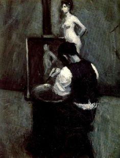 Edward Hopper. Painter and model 1902-1904