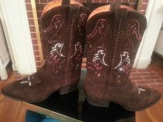 Sparkly Frye boots