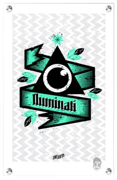 Mysteries Series - Iluminati illustration by Tone Olvera