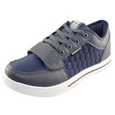 Mens Schraffur Designer Low gesteppte Trainer Sneakers UK 7-11 Freizeitschuhe - http://on-line-kaufen.de/crosshatch/mens-schraffur-designer-low-gesteppte-trainer-uk