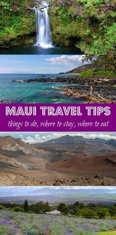My Top Things to Do in Maui, Hawaii --> Best Maui travel tips, things to see, what to do, where to stay, and where to eat in Maui. Pin this post to save it for your Maui vacation!