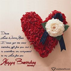 Birthday Wishes Quotes For Lovers Name Generator