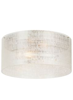 Buy the LBL Lighting Satin Nickel Direct. Shop for the LBL Lighting Satin Nickel Vetra 2 Light Wide LED Flush Mount Ceiling Fixture with Linen Weave Glass Shade - LED Bulb Included and save. Hallway Lighting, Flush Ceiling Lights, Flush Mount Lighting, Flush Mount Ceiling, Dining Room Lighting, Ceiling Fixtures, Bedroom Lighting, Hallway Ceiling, Apartment Lighting