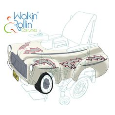 Gallery-OtherTopics-Walkin' & Rollin' Costumes Easy Costumes, Costume Ideas, Wheelchair Costumes, Sketches, Gallery, Drawings, Kids, Young Children, Simple Costumes