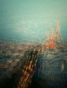 Des photomontages qui mettent en valeur la géométrie de Paris et Berlin | The Creators Project