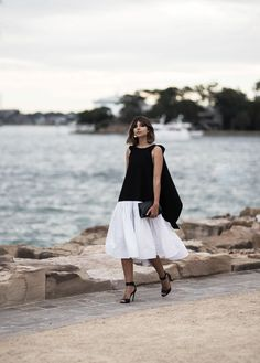 Talisa Sutton wears the Maticevsk Nexus dress tonimaticevski.com MBFWA: What I Wore On Day 1 — BADLANDS || @sommerswim