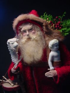 Twas this fellow, Santa, that hooked me on a career, years and years ago and still loving doing them. (decamp)