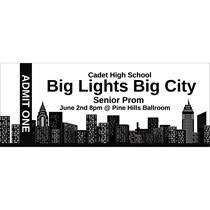 Image Result For Prom Ticket Template Bright Lights Big City Prom Tickets School Dance Ideas New York Theme Party
