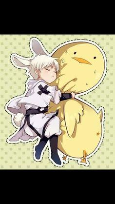 Prussia so cute!!