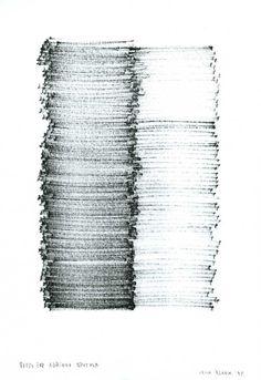 G - Dino Bedino, L'infinito Irma Blank, Poem for...