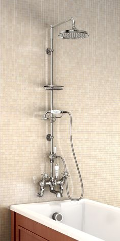 Shower #MyTraditionalBathroom  #BurlingtonBathrooms