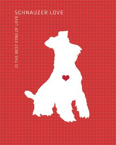 Schnauzer+Love+is+the+Best+Kind+of+Love++Dog+by+DogLoveShoppe,+$5.00