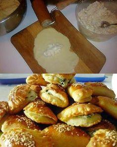 Η ζύμη γιαουρτιού είναι η ιδανική επιλογή για πεντανόστιμα τυροπιτάκια κι όχι μόνο !!. Φτιάχνεται δε πολύ εύκολα και με ΜΟΛΙΣ 3 ΜΟΝΟ υλικά, που σίγουρα υπάρχουν σε κάθε ψυγείο και ντουλάπι. Sausage Roll Pastry, Sausage Rolls, Flour Recipes, Cooking Recipes, Greek Cooking, Greek Recipes, Pie Dish, Food Processor Recipes, Food And Drink