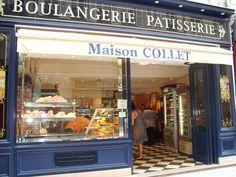 Pâtisserie Maison Collet The best patisserie in Paris as far as I'm concerned. rue montorgueil, 2nd.