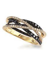 Bague à diamants 0,72 ct PT de La Baie d'Hudson 1 720,00 $ (50% de rabais) -
