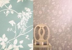 Fandango wisteria - Nina Campbell. Click the link in the bio for the best price per roll! #ninacampbell #wisteria #floral #flower #spring #friday #summer  #interior #interiors #interiores #interior123 #interiordesign #interiordesigner #wallpaper #wallpapersales #wallcovering #decoration #decor #instalike #instagood #instadaily #lfl #fff #follow4follow #inspiration #home #instadecor #designer #instaart