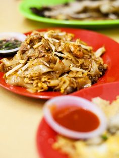 Enjoy some traditional Char Kueh Teow.
