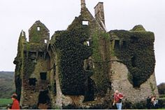 Coppinger's Court Castle in County Cork, Ireland