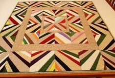 Quilting Patterns and Tutorials: Liberated String Medallion - Free Pattern