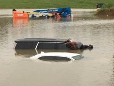 Houston pastor checks submerged cars to makes sure no one is trapped https://www.cbsnews.com/news/houston-pastor-checks-cars-submerged-in-floodwaters-to-make-sure-no-one-is-inside/