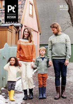 Pt Design 141 Pelana mønsterstrikk