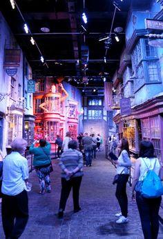 Warner Bros. Studio Tour London - The Making of Harry Potter - Diagon Alley mypoppet.com.au