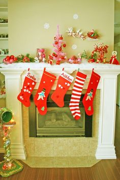 Fireplace Decorating Ideas | Dream House Experience