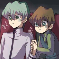 Noah Kaiba with little Seto. :3