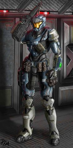Spartan V147 Ready for battle by ~philorion7 on deviantART