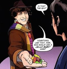 I just love this image!  Jelly Babies To Jammie Dodgers: The Food History Of Doctor Who