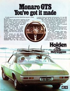 Using Vintage Car Clip Art to Design Almost Anything - Popular Vintage Australian Muscle Cars, Aussie Muscle Cars, Hq Holden, Chevy, Holden Monaro, Holden Australia, Australian Vintage, Car Brochure, Sports Sedan
