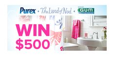 Purex, The Land of Nod, and others have come together to provide an awesome prize pack including a $500 Gift Card to The Land of Nod. Expiration Date: 06-30-2014, Contest Eligibility: US - GiveawayFrenzy