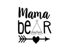 DIY Papa Bear Heat Transfer Vinyl Decal by MiltonMonograms on Etsy