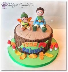 Tree Fu Tom cake......